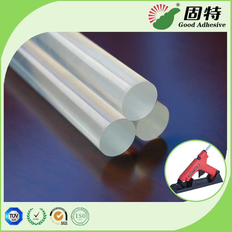 Stick-like solid Transparent EVA and Viscosity resin High Strength Hot Melt Glue Sticks 11mm Used With Hot Melt Glue Gun