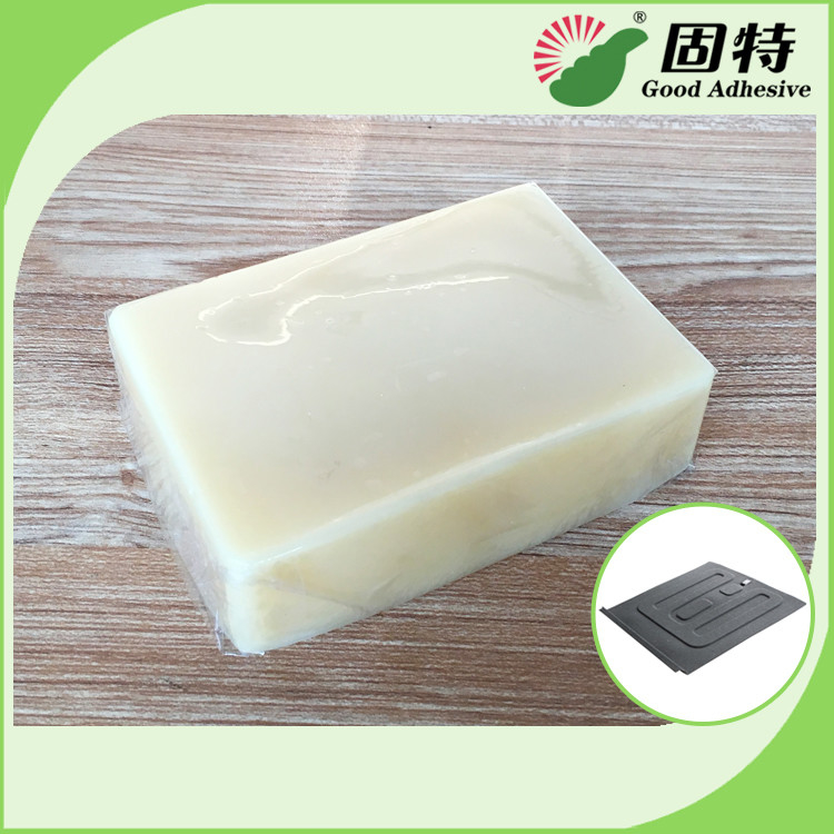 Automobile Yellow Block Hot Melt Glue Adhesive Hot Melt Adhesive For Automobile Carpets Foam