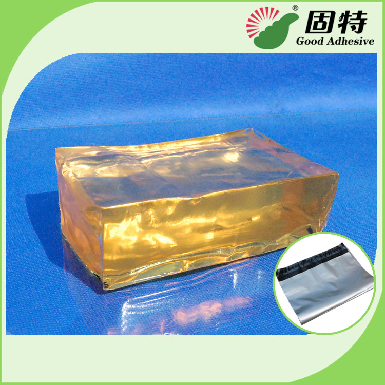 Strong Packaging Hot Melt Adhesive Tape Semi Transparent Yellow and semi-transparent block