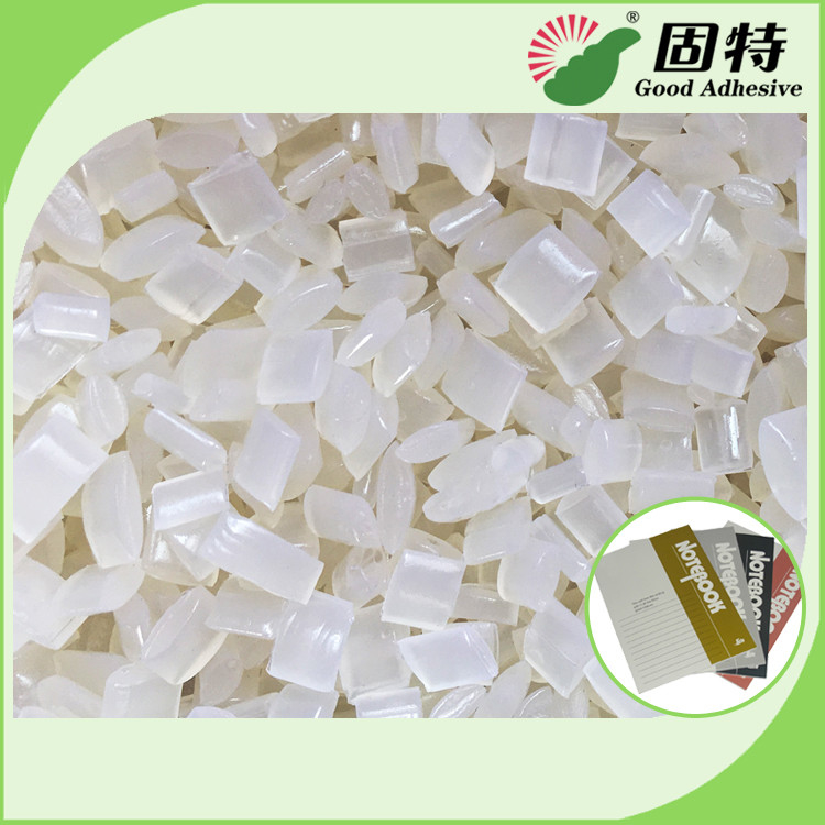 Soft Notebooks Transparent Hot Melt Adhesive Glue Easy To Be Upfolded