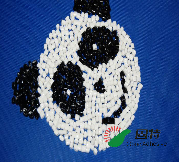 white Granule Hot Melt Adhesive Pellets For Sticking Air Filter With External Materials EVA and Viscosity resin