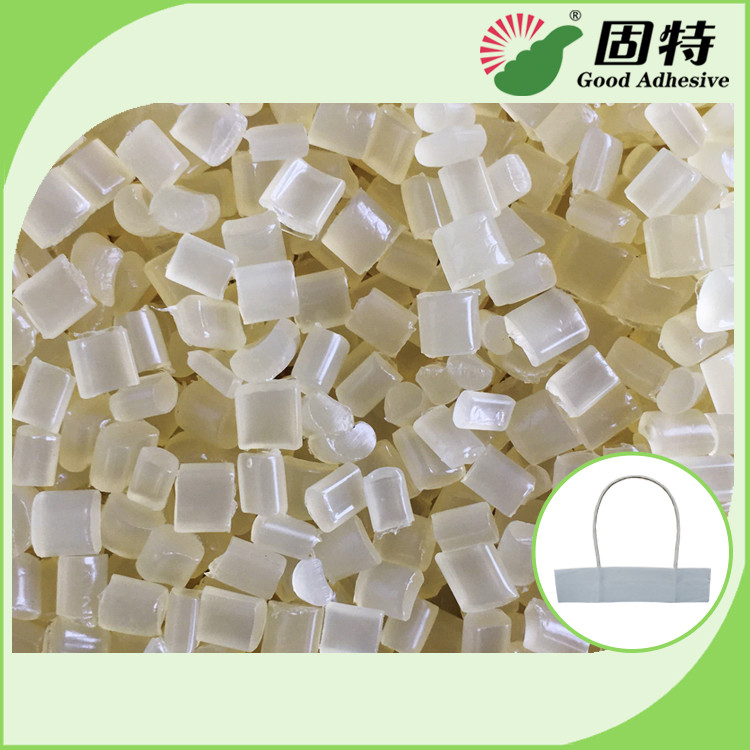 EVA Hot Melt Glue For Paper Handle Of Paper Shoppingbag , Good Flowability